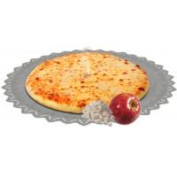 Осетинский пирог сладкий с яблоком и творогом 1200 гр.