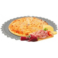 Пирог с курицей, сыром и болгарским перцем 1200 гр.