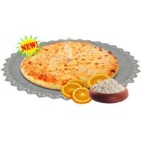 Осетинский пирог сладкий с творогом и апельсином 1200 гр.